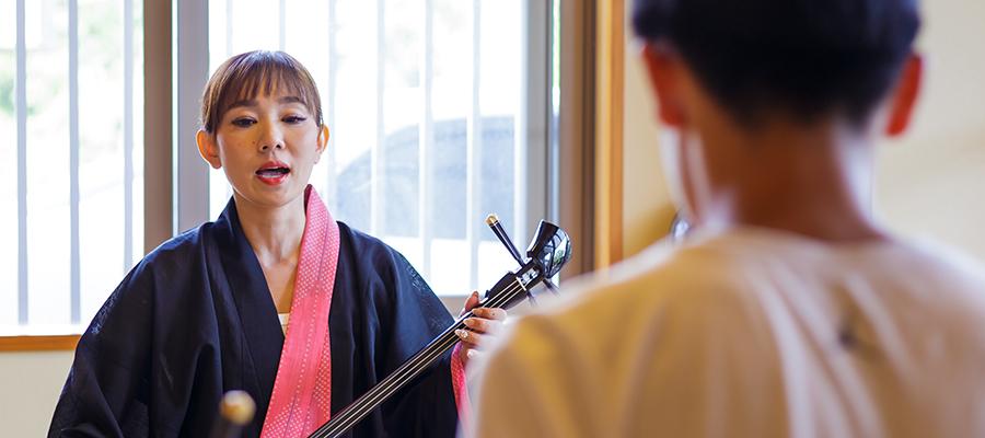 仲大千咲琉球古典音楽教室の開校